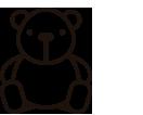 Icono de osito de peluche